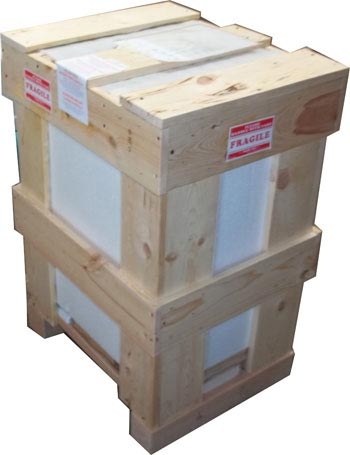 Colton Solid Open Sided Crate