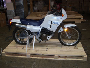 Motorcycle And Auto Packing Crating And Shipping Services