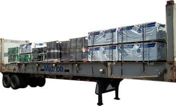 Air Force Flat Rack Shipping & Packing