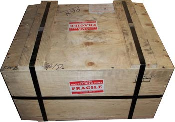 Heavy Duty Wood Crate